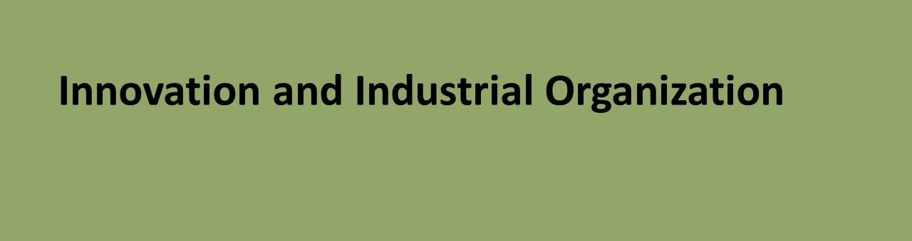 Innovation and Industrial Organization